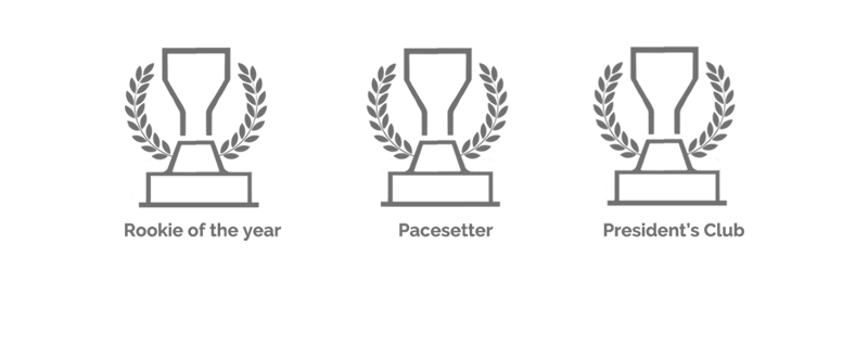 Graphic of awards